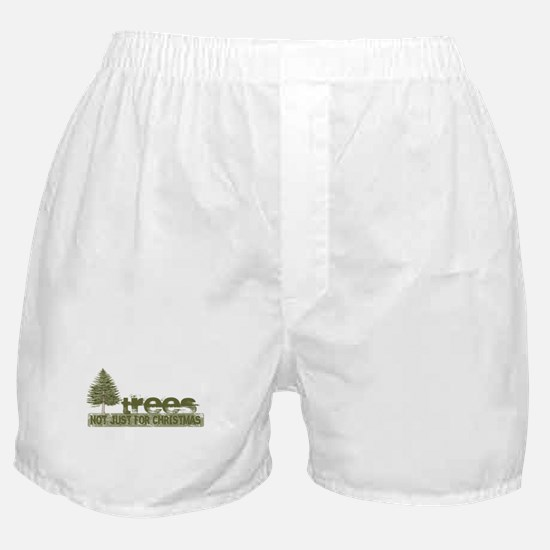 Trees Not Just For Christmas Boxer Shorts