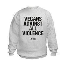Vegans Against All Violence Sweatshirt
