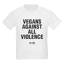 Vegans Against All Violence T-Shirt