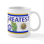 Masonic Worlds Greatest King Dad Fancy Mug