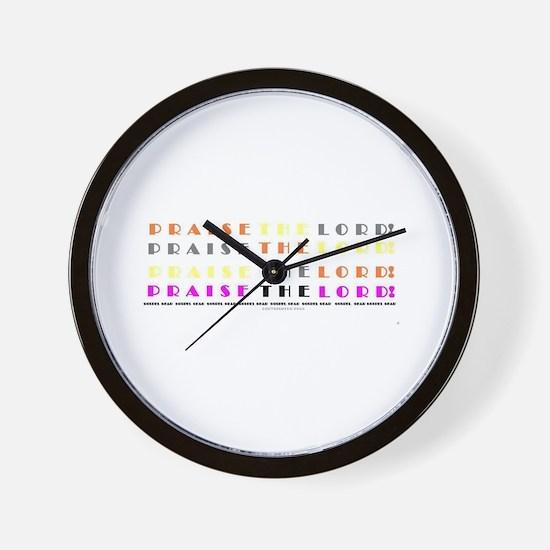 Gospel Gear Wall Clock