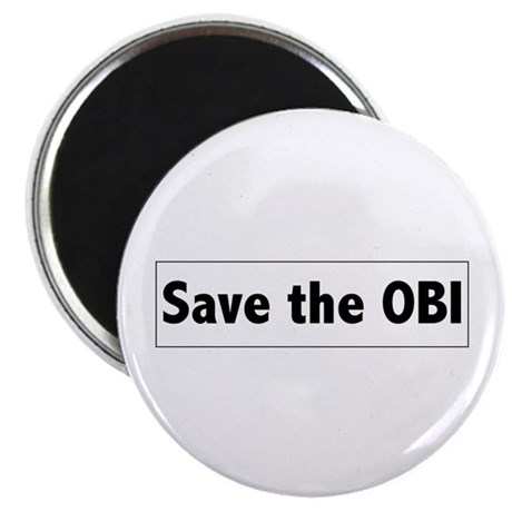 "Save the OBI 2.25"" Magnet (10 pack)"