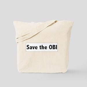 Save the OBI Tote Bag