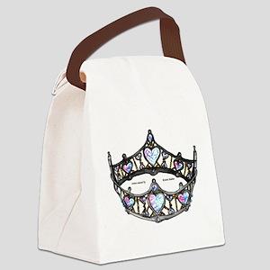 Queen of Hearts silver crown tiara colorful diamon