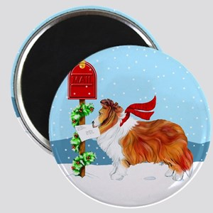 Sable Sheltie Mail Magnet