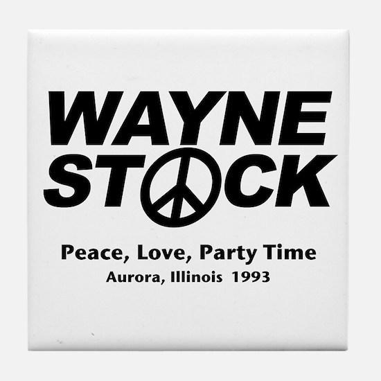 Waynestock Tile Coaster