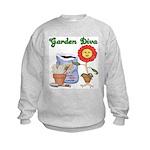 Garden Diva Kids Sweatshirt