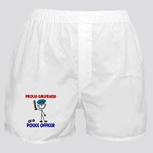 Proud Girlfriend 1 (Police Officer) Boxer Shorts