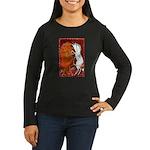 Women's Long Sleeve Dark T-Shirt by Lee