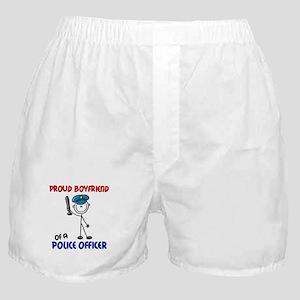 Proud Boyfriend 1 (Police Officer) Boxer Shorts