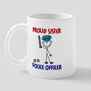 Proud Sister 1 (Police Officer) Mug