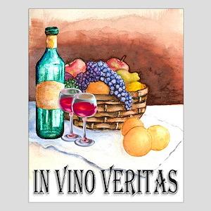 In Vino Veritas Small Poster