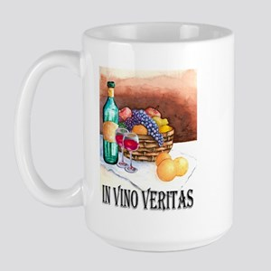 In Vino Veritas Large Mug