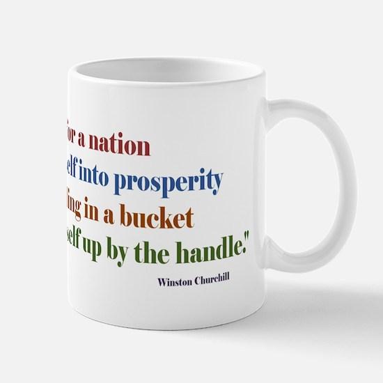 Churchill Banner Mugs