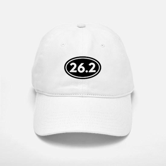 26.2 Marathon Oval Baseball Baseball Cap
