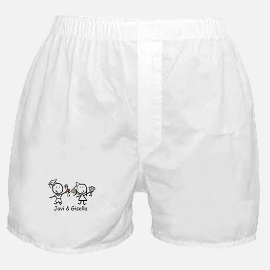 Grad & Wedding - Javi & Gisella Boxer Shorts