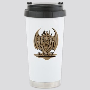 The Gargoyle Stainless Steel Travel Mug