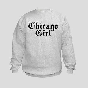 Chicago Girl Kids Sweatshirt