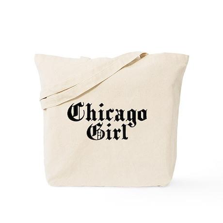 Chicago Girl Tote Bag