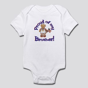 Proud of my brother Infant Bodysuit