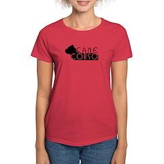 Black Cane Corso Women's Dark T-Shirt