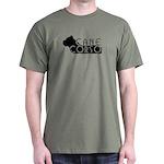 Black Cane Corso Dark T-Shirt