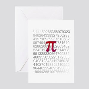 Delicious Pi Greeting Card