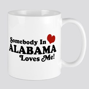 Somebody in Alabama Loves Me Mug