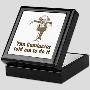 Conductor Told Me Keepsake Box