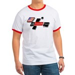 USMotoGPFans Logo Ringer T