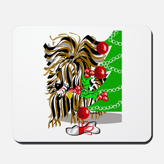 A Very Yorkie Christmas! Mousepad