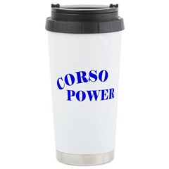 Cane Corso Power Stainless Steel Travel Mug