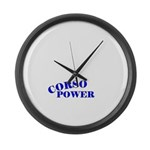 Cane Corso Power Large Wall Clock