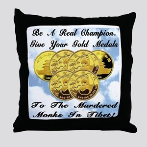 A Real Champion Throw Pillow