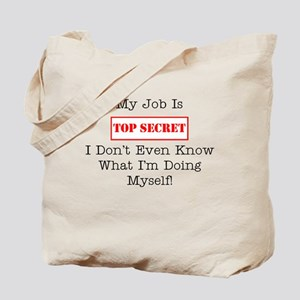 Top Secret Jobs Tote Bag