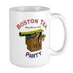 Boston Tea Party national Large Mug