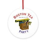 Boston Tea Party national Ornament (Round)