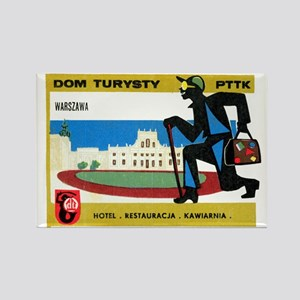 Dom Turysty (Warsaw) Rectangle Magnet