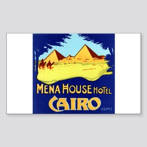 Mena House Hotel (Cairo) Luggage Sticker (UnCut)
