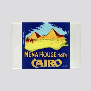Mena House Hotel (Cairo) Rectangle Magnet