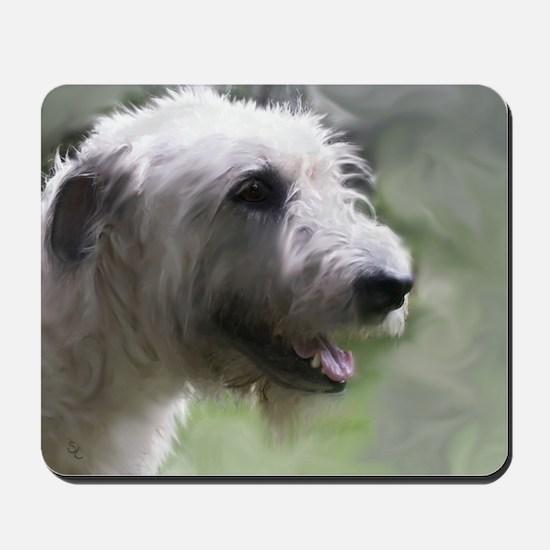 Content Irish Wolfhound Mousepad