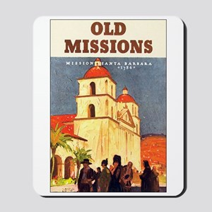 Mission Santa Barbara Mousepad