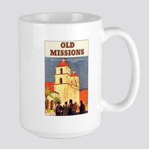 Mission Santa Barbara Large Mug