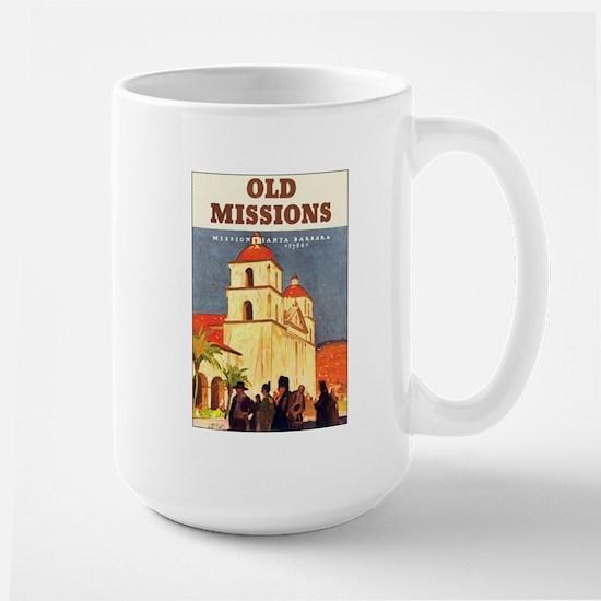 Mission Santa Barbara Large Mug