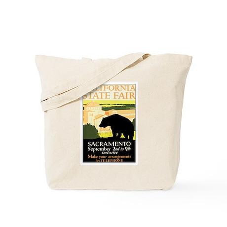 Sacramento CA State Fair Tote Bag