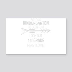 Kindergarten Rectangle Car Magnet