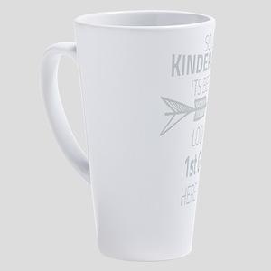 Kindergarten 17 oz Latte Mug