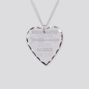 Kindergarten Necklace Heart Charm