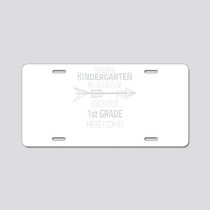 Kindergarten Aluminum License Plate
