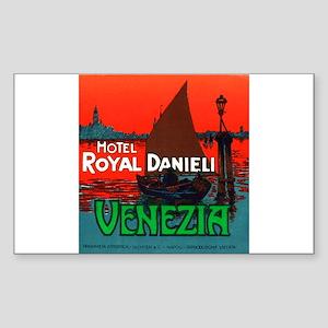 Hotel Royal Danieli (Venice) LuggageSticker(UnCut)
